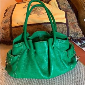 Green Come Haan Leather Bag